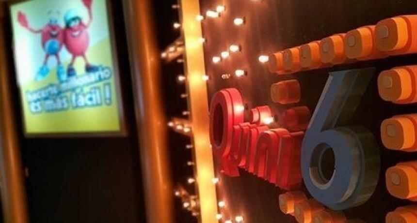 El Quini 6 sorteará ciento veintiún millones de pesos el domingo
