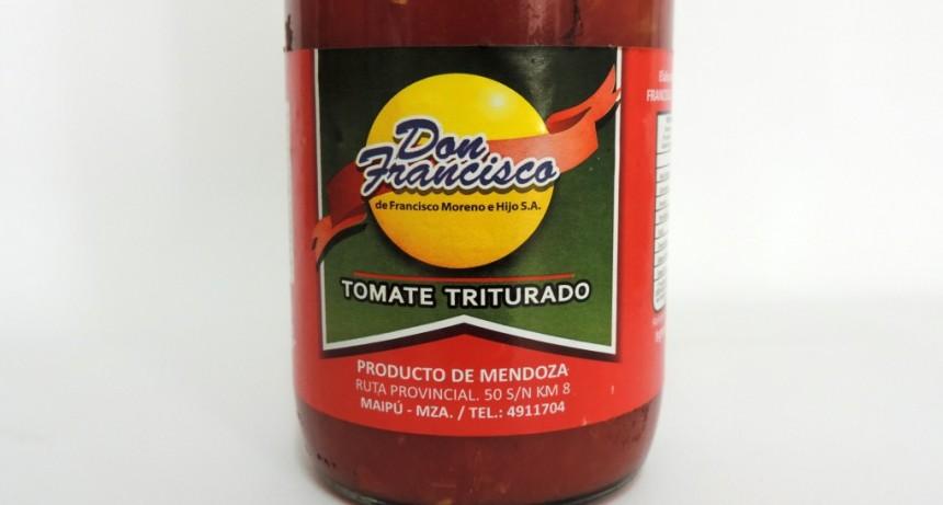 """La Assal prohibió el tomate triturado """"Don Francisco"""