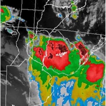Alerta meteorológica para centro y norte de Santa Fe por probables tormentas fuertes