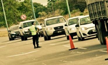 Los controles de tránsito serán reforzados durante el fin de semana largo