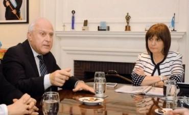 Miguel Lifschitz y Patricia Bullrich se reunieron por el plan de seguridad