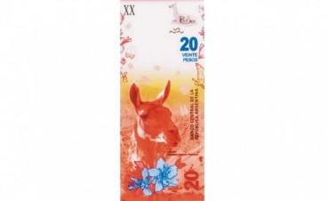 El Central lanzará un nuevo billete de veinte pesos