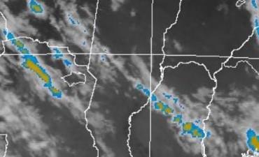 Alerta meteorológica por probables tormentas fuertes desde la mañana del martes