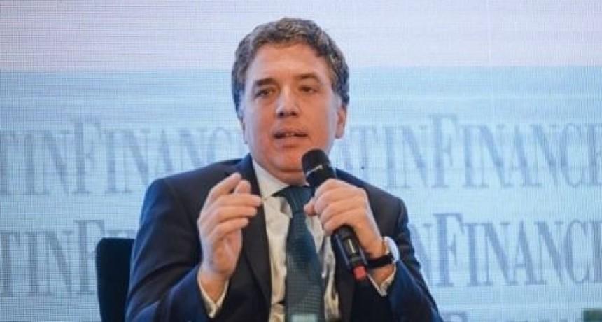 Dujovne considera que el plan requerirá de cuatro años para consolidarse