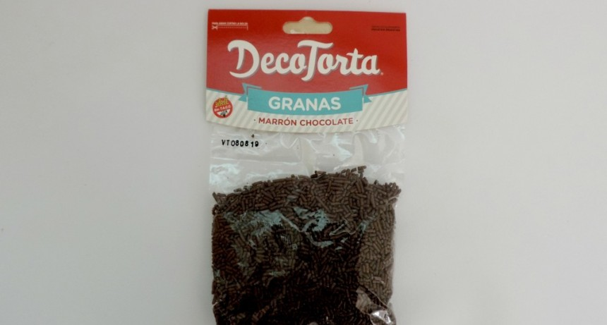 La Assal prohibió los productos rotulados como granas marca DecoTorta