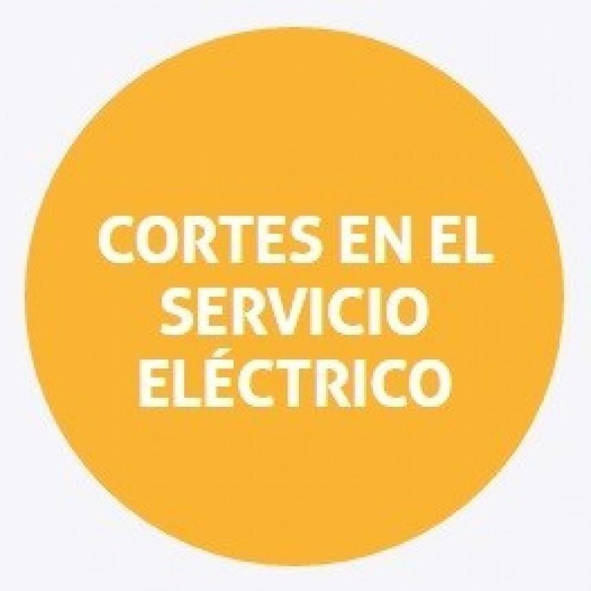 Corte de energía programado para el martes