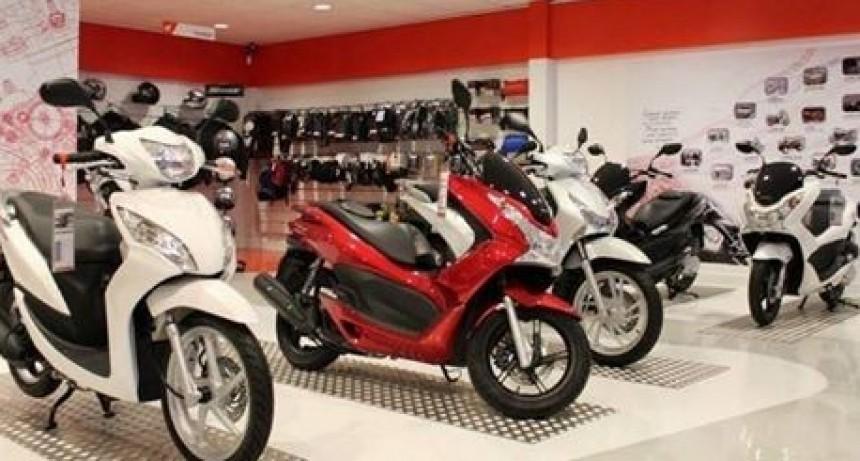 La venta de motos cayó tres por ciento interanual en septiembre