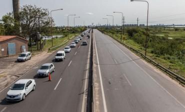 El pico de afluencia de tránsito en la ruta 168 es de 1200 vehículos