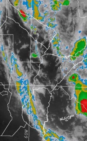 Alerta meteorológica por probables tormentas fuertes para el norte de la provincia