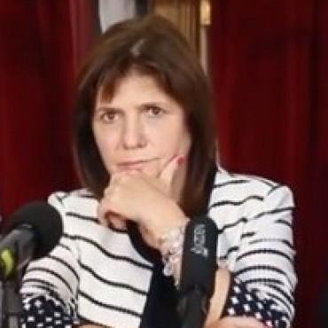 Patricia Bullrich denunciará a grupos de redes sociales por convocar a saqueos