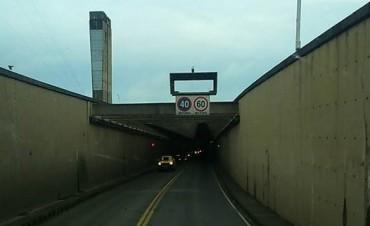Unos 12 mil vehículos atraviesan el túnel subfluvial diariamente