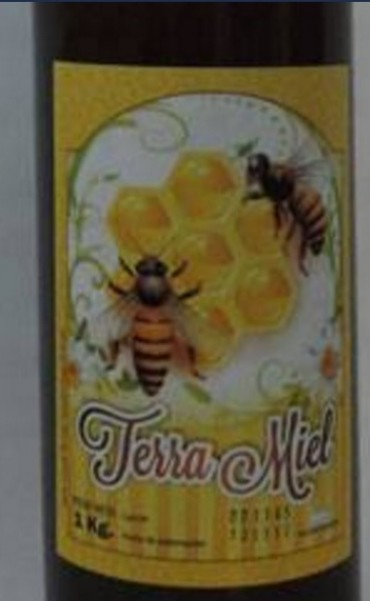 Alerta alimentaria por un producto de marca Terra Miel