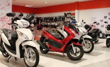 El patentamiento de motos subió más de cuarenta por ciento en noviembre