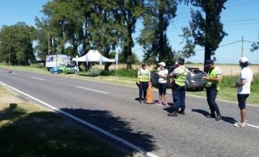 Vialidad provincial controló 6500 vehículos en una semana