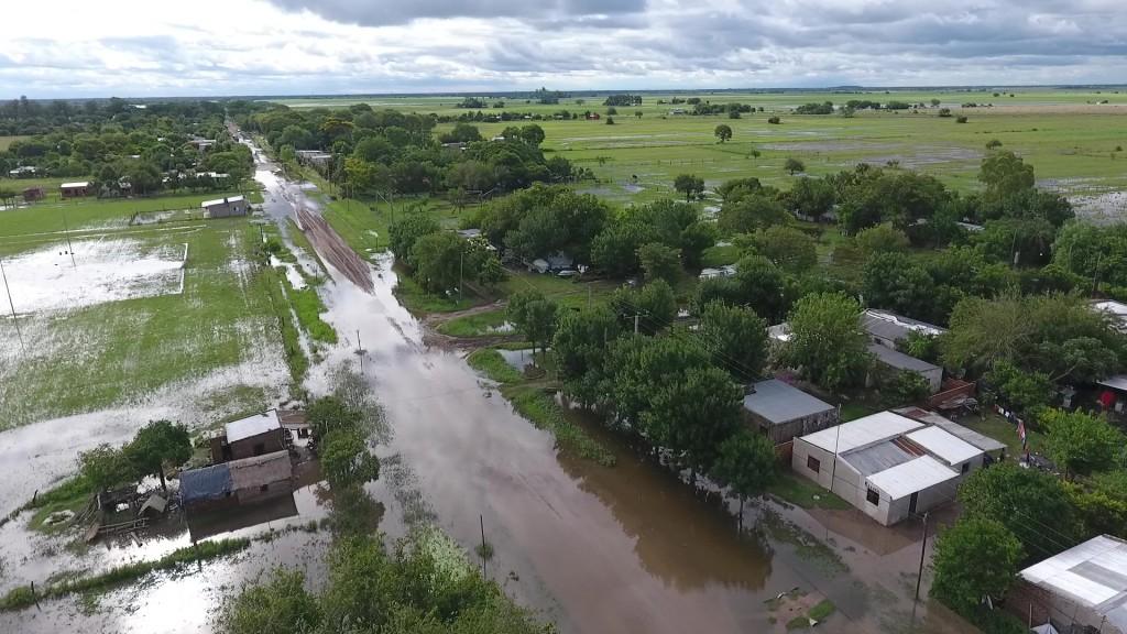 Casi 300 evacuados en el norte provincial