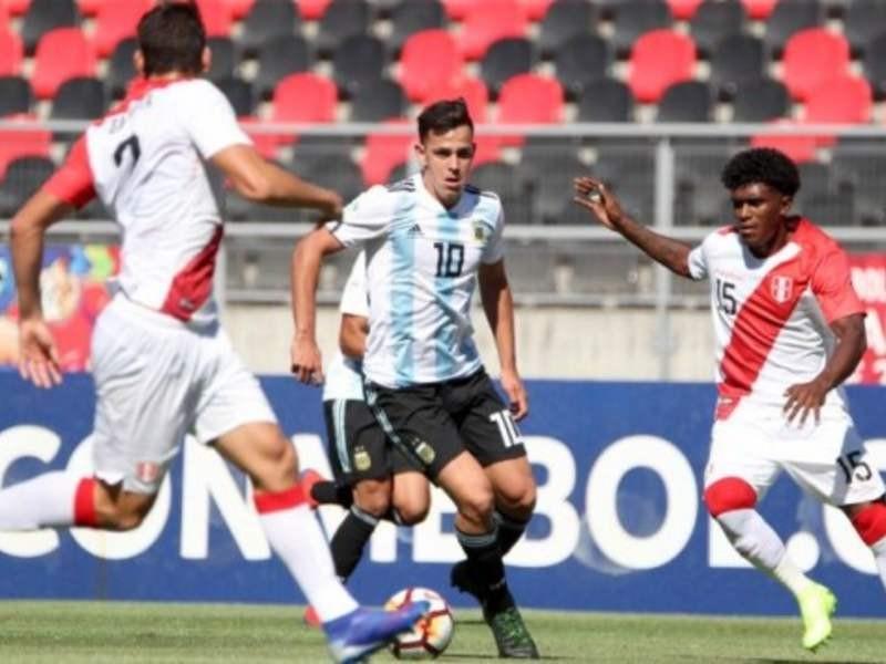 Argentina enfrenta a Ecuador por el hexagonal final del Sudamericano Sub 20 de fútbol