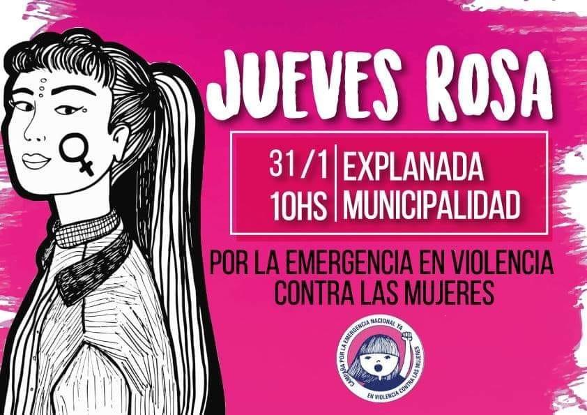 Primer Jueves Rosa contra la violencia de género