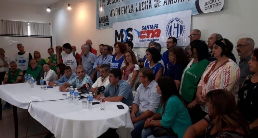 El Movimiento Obrero Santafesino se manifestará contra el tarifazo