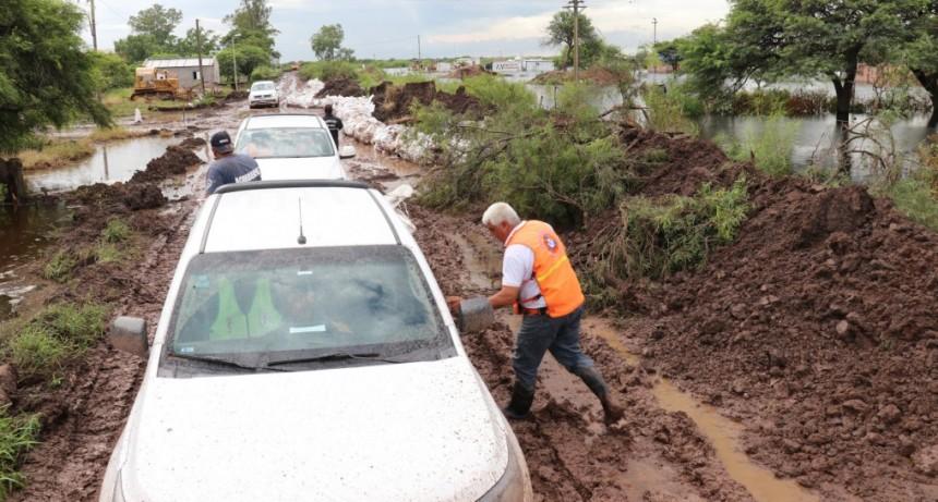 Más de 280 evacuados en la provincia