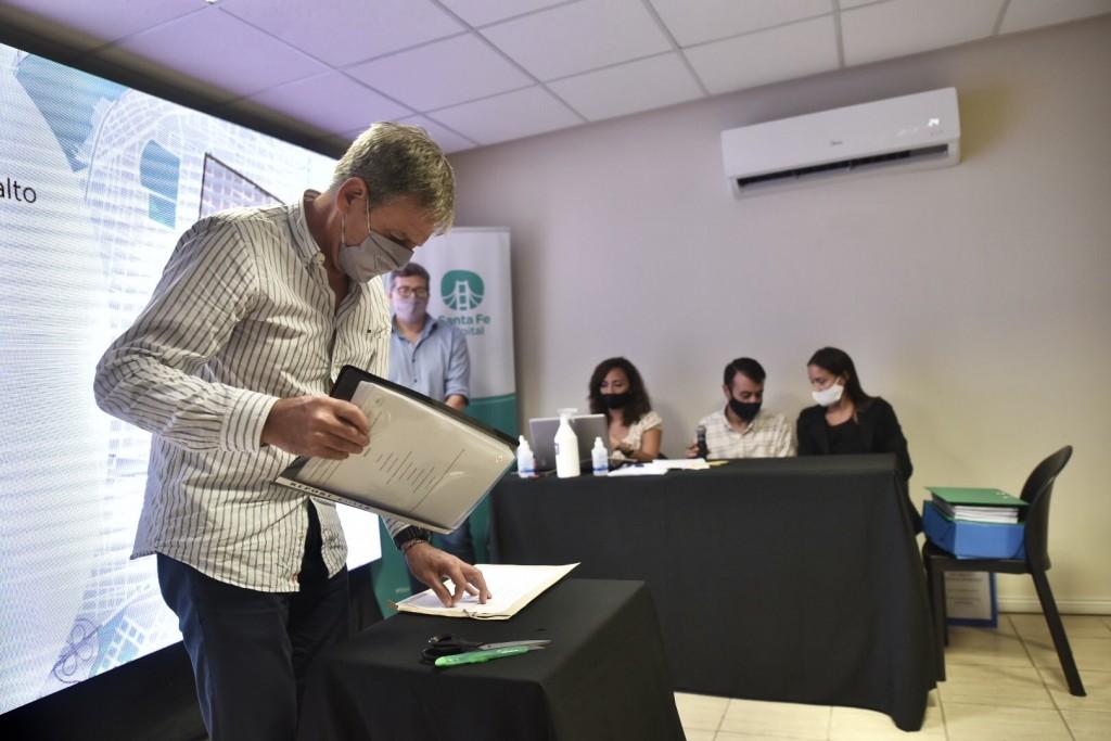 El Municipio presentó el plan de bacheo 2021