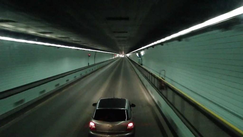 Corte total de tránsito en el Túnel Subfluvial