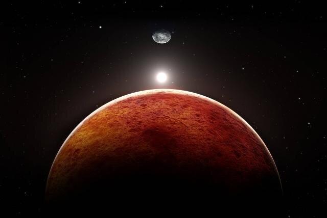 La conjunción entre Marte y Urano: El luminoso fenómeno astronómico que se verá esta noche