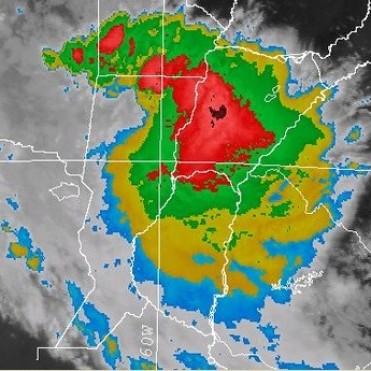 Alerta meteorológica para el norte de la provincia