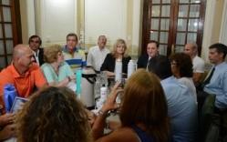 Farías y Balagué esperan que los gremios acepten la propuesta salarial