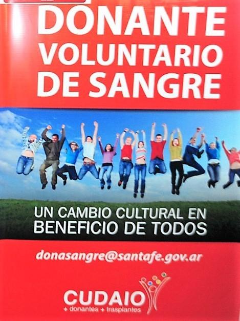 Seis mil santafesinos donaron sangre en colectas voluntarias el año pasado