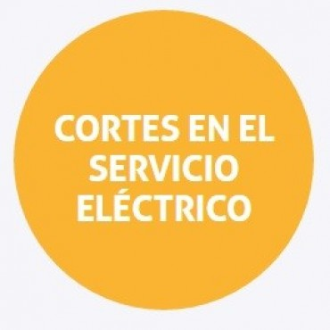 Cortes de energía programados para el jueves en Rincón y Santa Fe