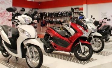 El patentamiento de motos subió cincuenta y cinco por ciento en enero
