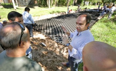 El Municipio licita geoceldas para Colastiné