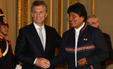 Evo Morales y Mauricio Macri se reúnen antes de junio