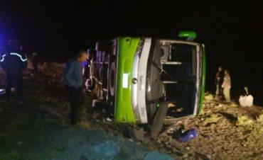 Al menos quince personas murieron por el vuelco de un micro en Mendoza