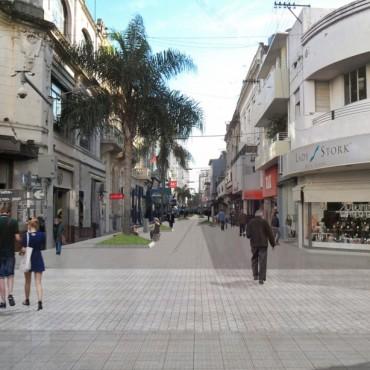 Los comerciantes se reunirán para analizar la remodelación de la peatonal