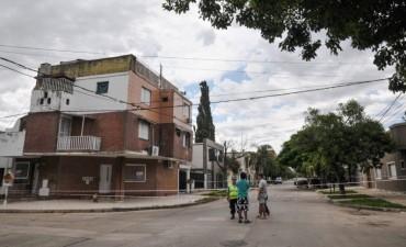 El Municipio desalojó un inmueble en peligro de derrumbe