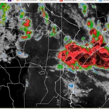 Alerta meteorológica por probables lluvias y tormentas intensas en centro y norte de Santa Fe