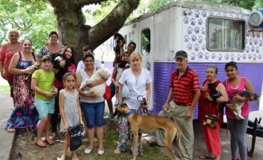 Castración de mascotas en vecinal Sarmiento de Santo Tomé