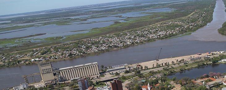 El río Paraná creció casi un metro