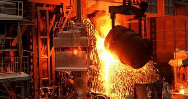 La producción siderúrgica retrocedió 20 por ciento en enero