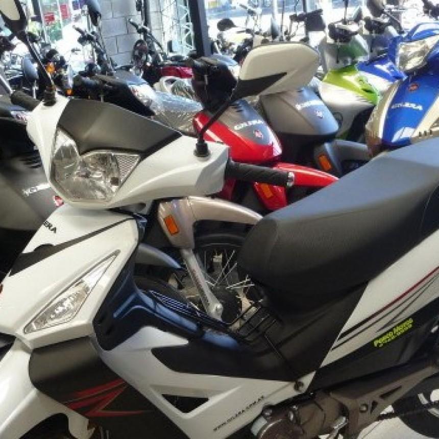 El patentamiento de motos retrocedió más de 44 por ciento interanual en enero