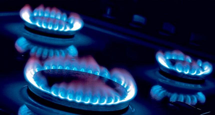 El gas no aumentaría más de 30 por ciento en el año