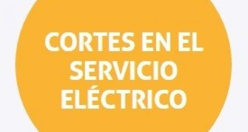 Cortes de energía programados para este martes en Santa Fe