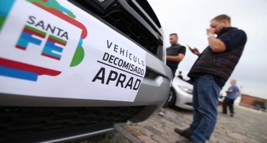 La segunda subasta de autos incautados a bandas delictivas se realizará el 7 de marzo