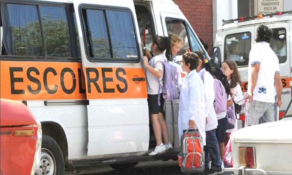 Transportes Escolares: incrementará el costo de servicio
