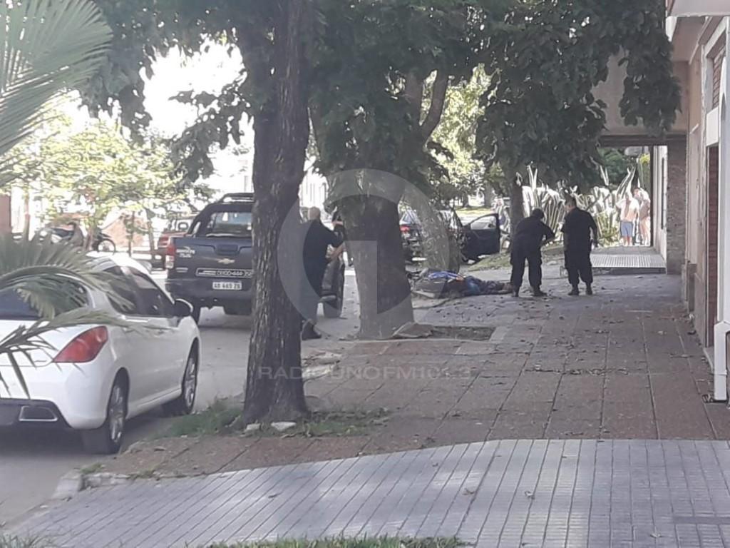 Homicidio en calle San Juan al 2800