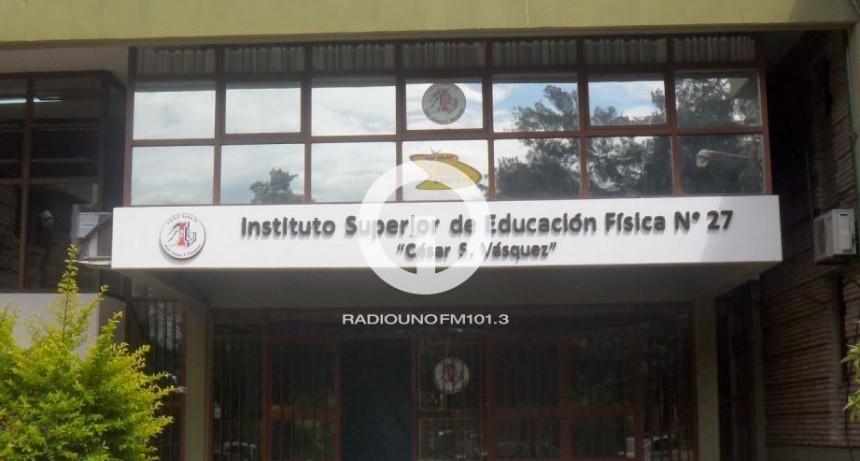 Reiterados robos en el Instituto Superior de Educación Física
