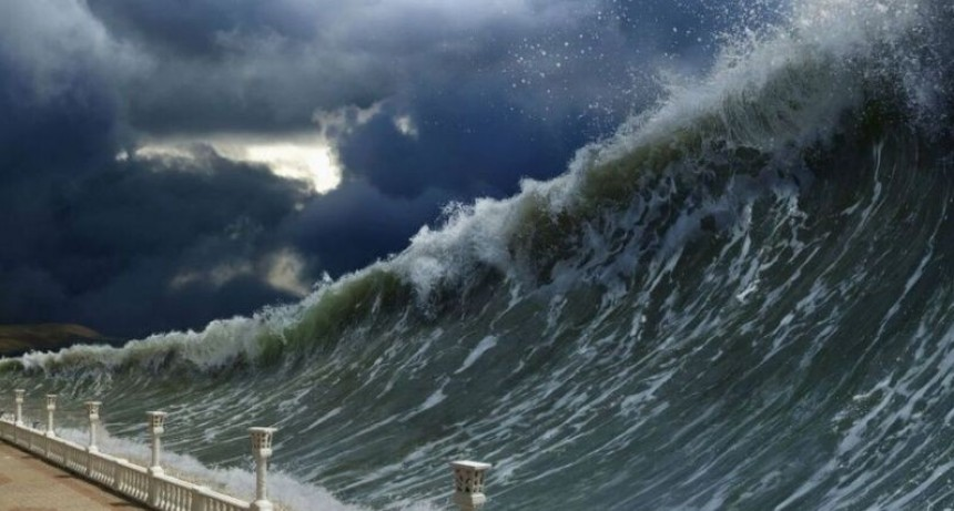¿Posible tsunami en Mar del Plata?