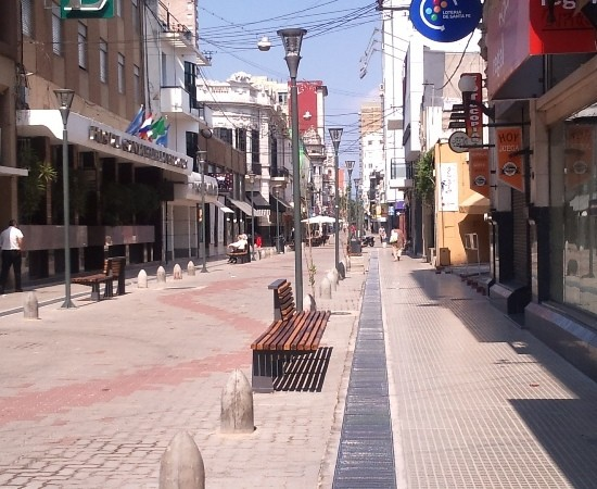 Comerciantes de la peatonal San Martín están preocupados por el aumento de robos en la zona