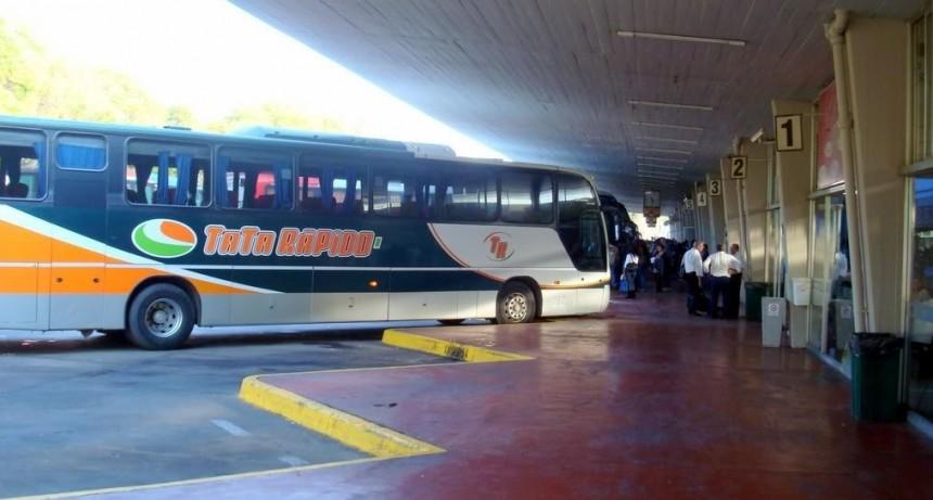 Disminuyó en un 80 % la cantidad de pasajeros en el transporte interurbano en Santa Fe